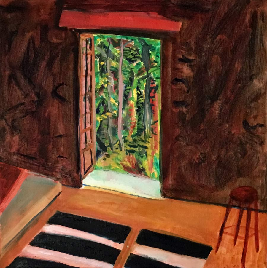 Studio Doorway by John Clare